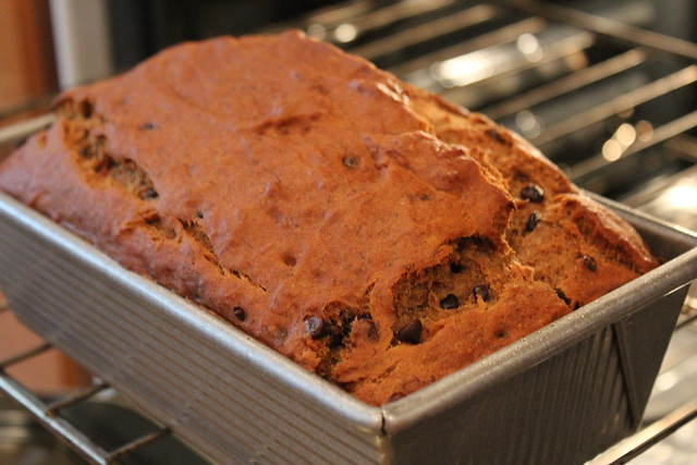 Gluten Free Banana Bread Recipe - NO Eggs, but look at that rise!