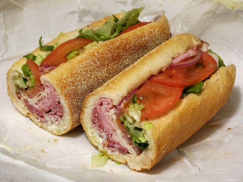 Meatlovers sub