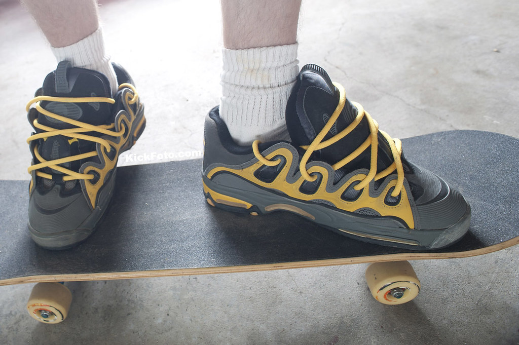 en negro blanco Osiris y rojo skate zapatos 2001 D3 qYwxavI