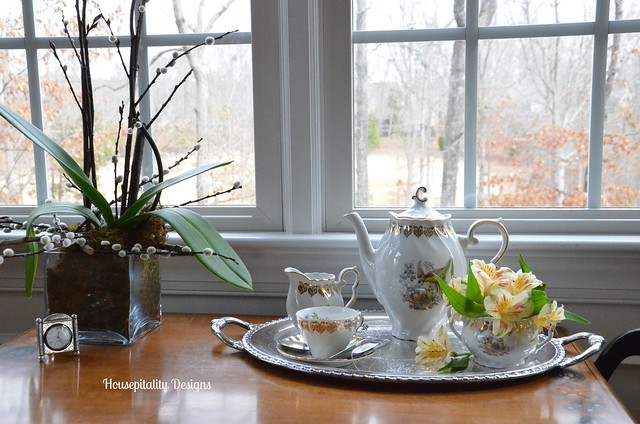 Dining Room Tea Cart-Housepitality Designs