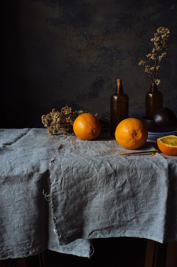laranjas e oregãos