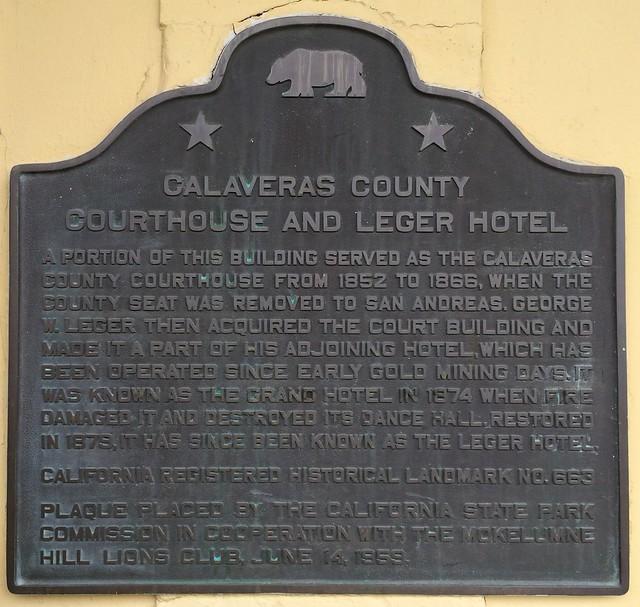 California Historical Landmark #663