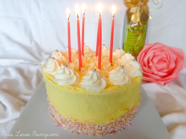 Birthday Banana Split Cake