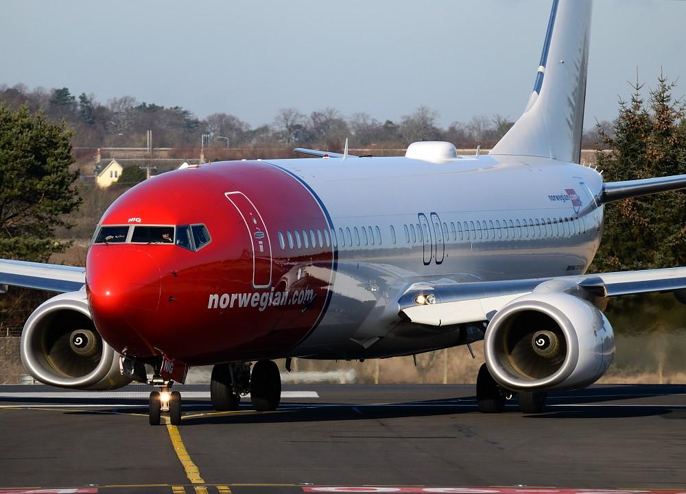 LN-NIG - B738 - Norwegian