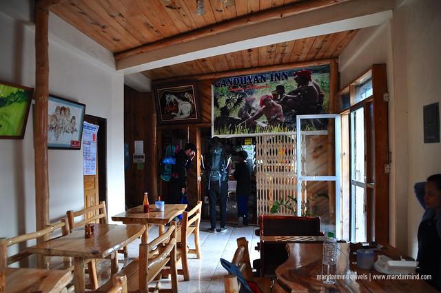 Ganduyan Inn Sagada Restaurant