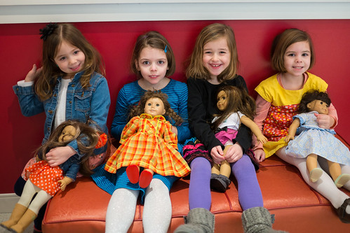 Trip to American Girl store
