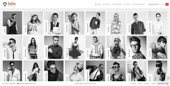 Julia v1.2.3 - Talent Management WordPress Theme