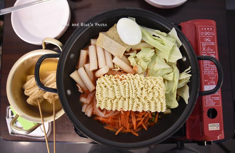 台中韓式料理一中街求求辣年糕菜單價位18