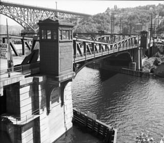 Fremont and Aurora Bridges, 1936