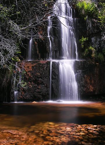 Cascada en Garganta de las Lanchas