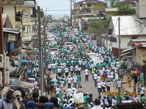Party mobilizations - 9 October 2011