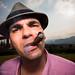 Smoking Cuban cigar, Vinales, Cuba by Catherine Gidzinska and Simon Gidzinski