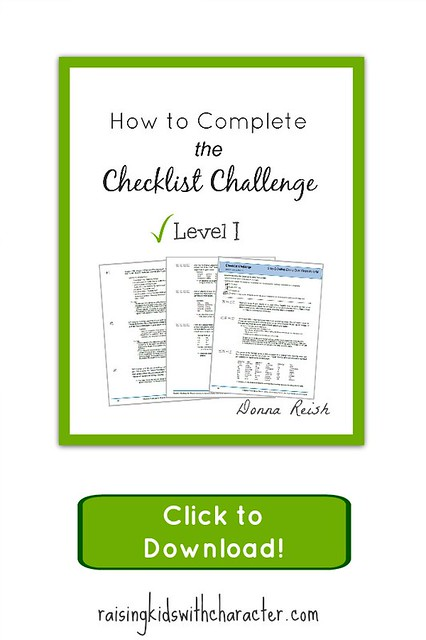 Download the Checklist Challenge