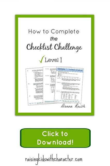 Download the Checklist Challenge