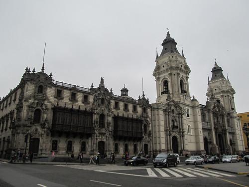 Lima: le centre historique