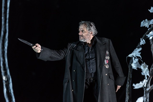 Željko Lučić as Count di Luna in Il trovatore, The Royal Opera © 2016 ROH. Photograph by Clive Barda