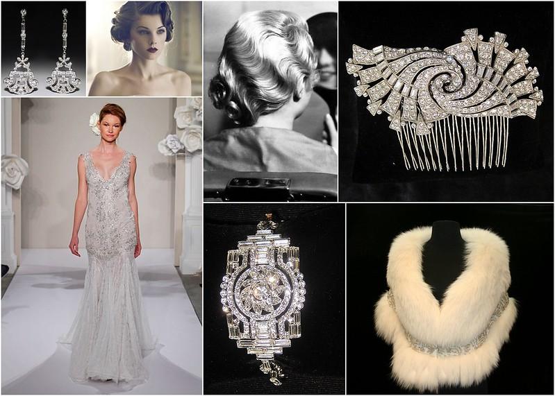 Great Gatsby Bridal Style Inspiration - Socialite