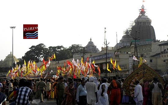 Grand Procession for SRIKHETRA SANTH JAGARAN  BISWAKALYAN  MAHAYANGYA