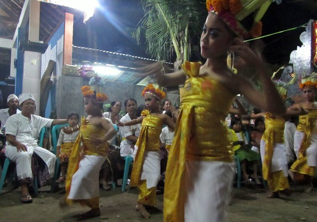 Purnama celebrations in Serangan