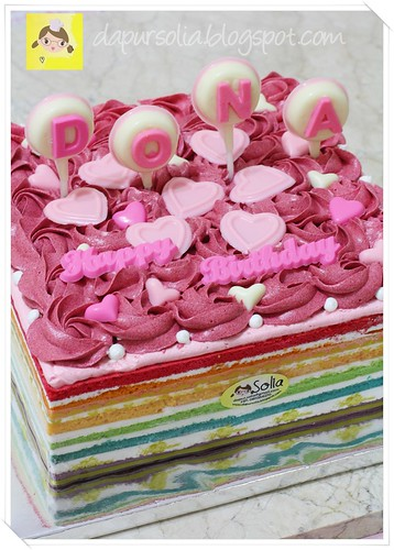 Rainbow Cake Special