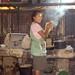 Francisca en el comedor; San Lucas Camotlán, Región Mixes, Oaxaca, Mexico por Lon&Queta