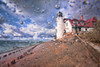 Point Betsie Light Spray