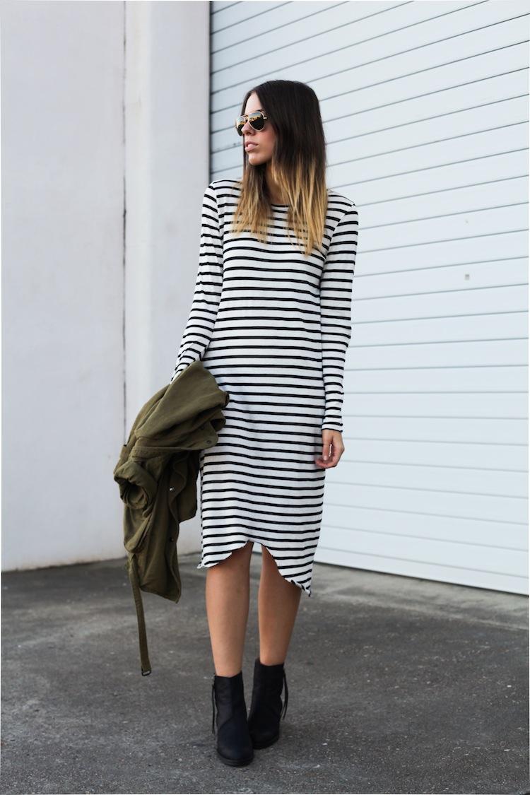 Modern Legacy Fashion Blog Australia ASOS State of Fashion Bassike stripe Isabel Marant Uro Acne Pistol (1 of 1)