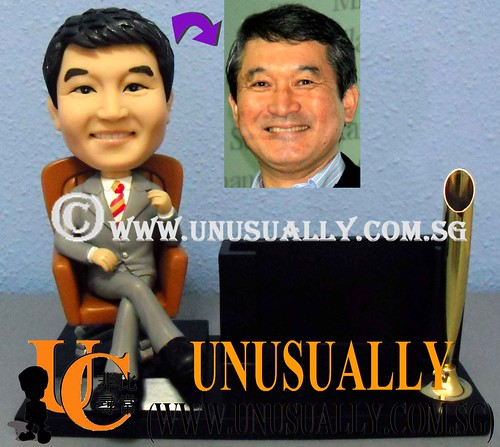 Personalized Corporate Gift - Custom 3D Clay Figurine - Unusually Creation - @www.unusually.com.sg