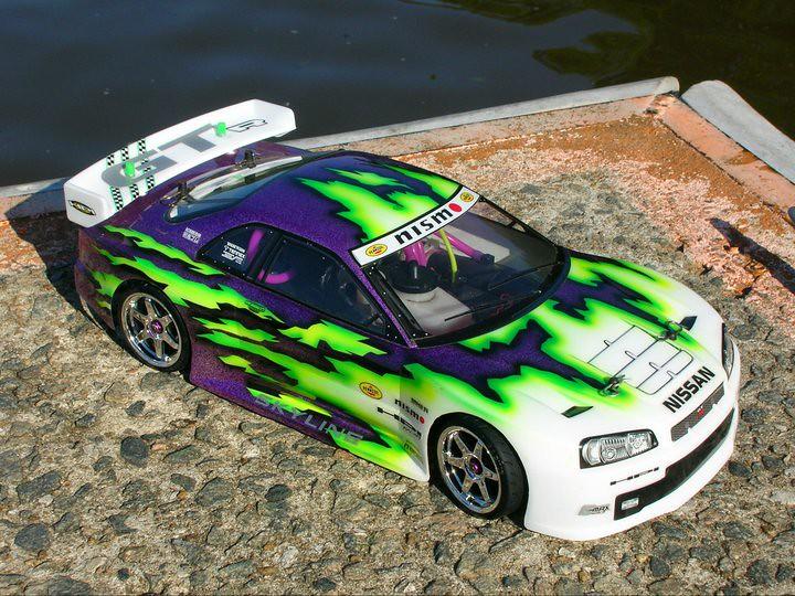 My Drift Car    HPI R40 Hara Edition   with novarossi engi