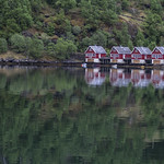 Cabins on Sognefjord