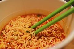 Nissin Bowl Soup Instant Noodles, Kimchi Flavour