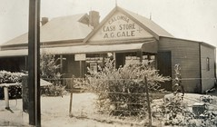 Calomba Store - owner A. Gale 1937
