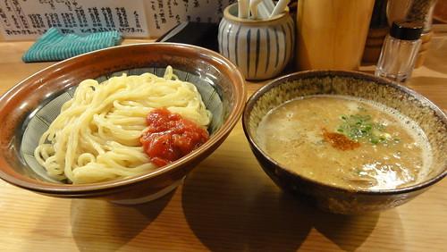 中華そば専門店Mの飛騨味噌つけ麺(特盛)