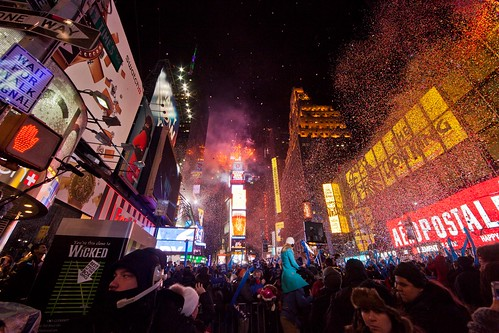 Working New Years Eve Social Media for NBC