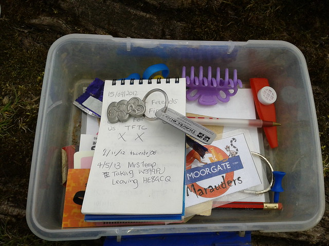 Geocaching in Yorkshire