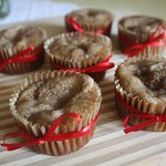 Apple Muffins with Cinnamon Cream Cheese