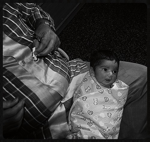 Nerjis Asif Shakir Gets Ready For Her Mundan Ceremony 5 Day Old by firoze shakir photographerno1