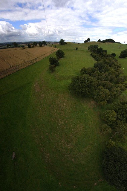 KAP Shot 3 of Oldox/Oxton  Hill Fort 2013