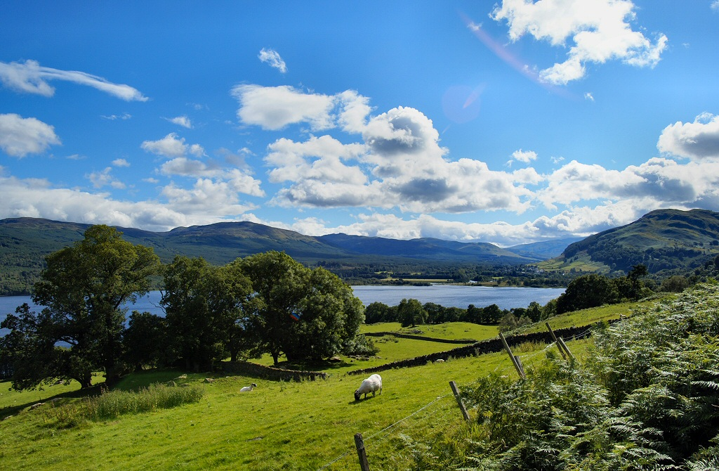 7. Loch Tay. Autor, Pioilo