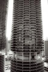 Marina City, Chicago River, Chicago