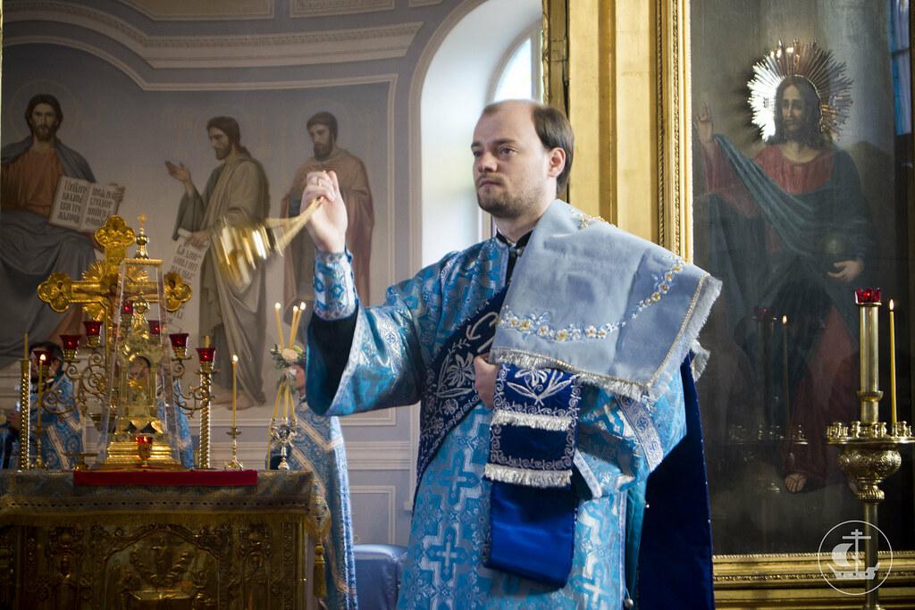 28 августа 2013, Литургия в праздник Успения Пресвятой Богородицы