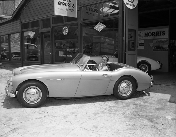 New Austin-Healey 100-6 convertible in Tallahassee, Florida