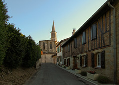 05 Loubens Lauragais_Rue de l'Eglise - Photo of Le Cabanial