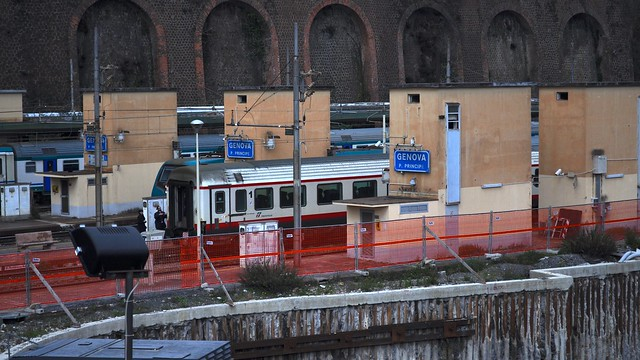 Genova piazza principe railway station genoa genova - Genova porta principe ...