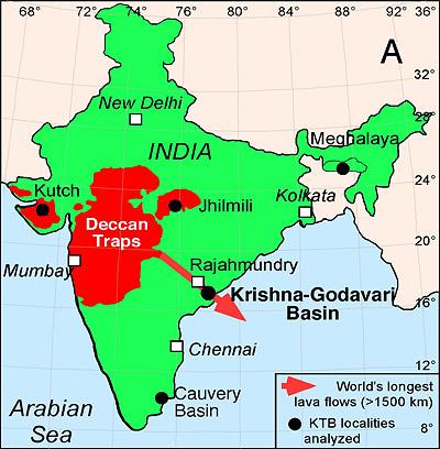 Deccan Map