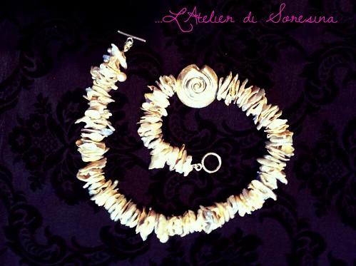 Perle selvagge con chiocciola (Nr.153) by L'Atelier di Soresina