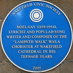 Photo of Noel Gay blue plaque
