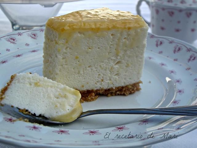 Tarta de queso y limón 13