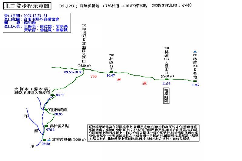 北二段步程示意圖(5)