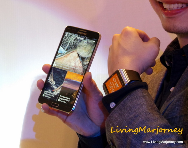 Samsung Galaxy Gear + Note 3